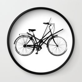 Vintage Bicycles Wall Clock