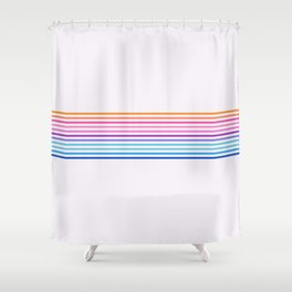 Vintage T-shirt No11 Shower Curtain