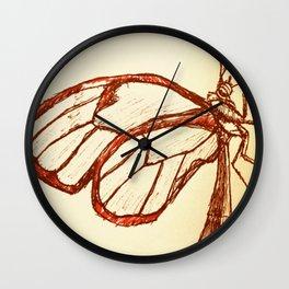 Glasswing Wall Clock