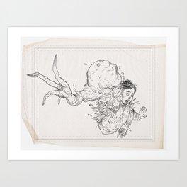 Sketch #6 Art Print