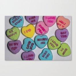 Sweethearts Canvas Print