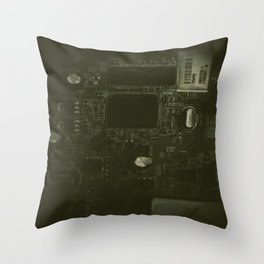 The City of Circuitry 5.0 Throw Pillow