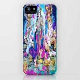Saraswati, Lakshmi & Ganesha iPhone Case