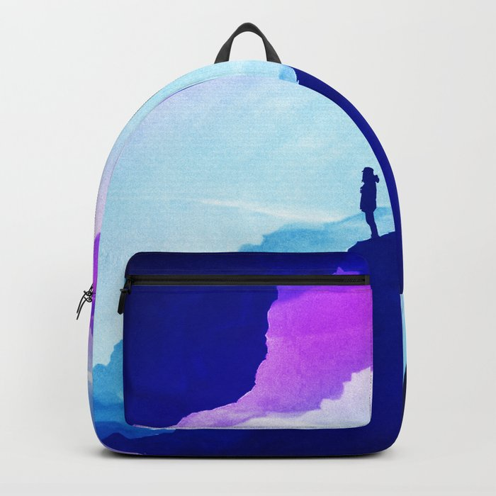 Violet dream of Isolation Backpack