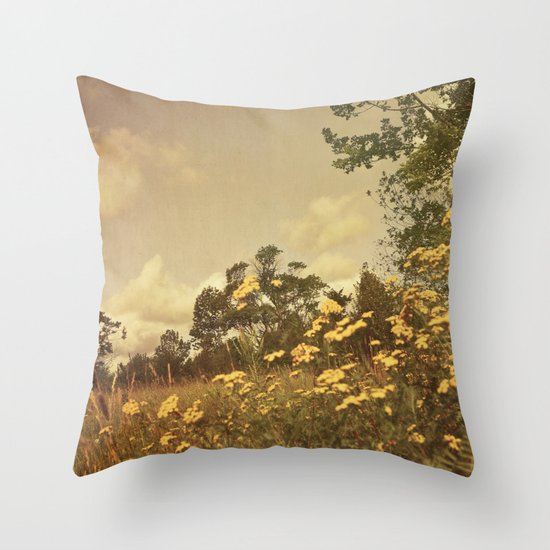 Summer Whimsy Throw Pillow