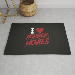 I love horror movies Rug