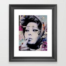 Sophia Loren Framed Art Print
