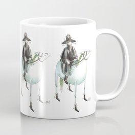 Numero 7 -Cosi che cavalcano Cose - Things that ride Things- SERIE ARGENTO - SILVER SERIES Coffee Mug