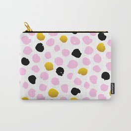 Cute Colorful Dots Pattern Carry-All Pouch