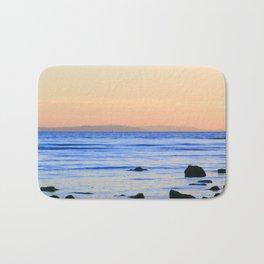 Pastel Sunset Bath Mat
