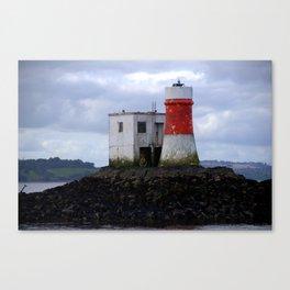Island Lighthouse Canvas Print
