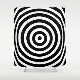 Circle Illusion Shower Curtain