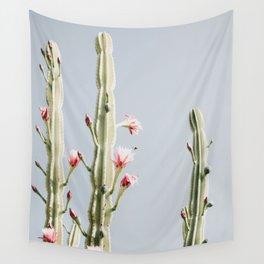 Cereus Cactus Blush Wall Tapestry