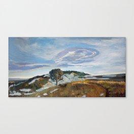 M Hill Canvas Print