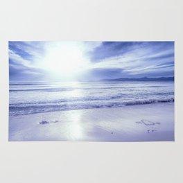 Serenity Beach Periwinkle Blue Rug