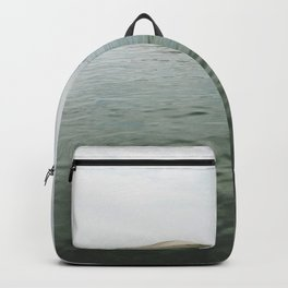 Boats in the lake Backpack