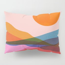 Abstraction_OCEAN_Beach_Minimalism_001 Pillow Sham