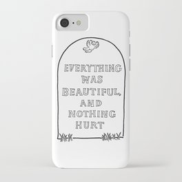 Vonnegut -  Billy Pilgrim iPhone Case