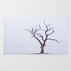 Tree in the Mist Rug