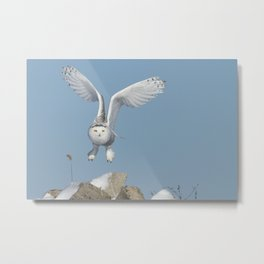 Her wings are my prayer Metal Print