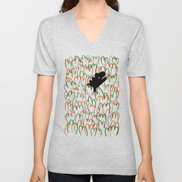 Jungle Dinosaur Unisex V-Neck