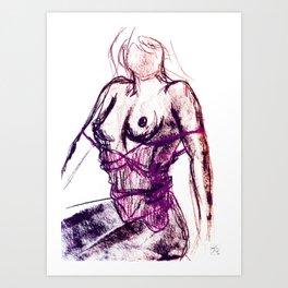 Sexy Ladies 04 Art Print