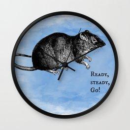 WordPlay 3 : Rat Race Wall Clock