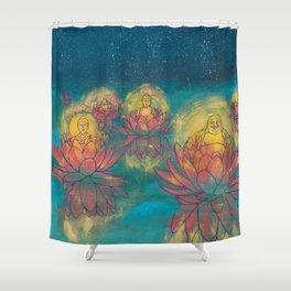 Buddhas Shower Curtain