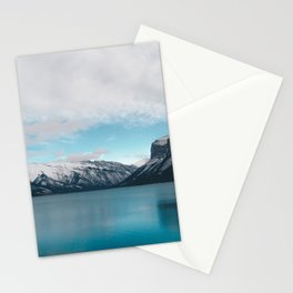 Lake Minnewanka, Canada #society6 #decor #buyart Stationery Cards