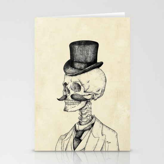 Old Gentleman  Stationery Cards