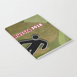 Soccer Sliding Notebook