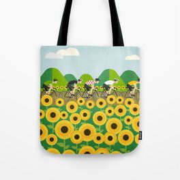 Le Tour I Tote Bag