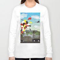 chile Long Sleeve T-shirts featuring Centro de Chile by i am nito