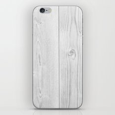 wood lines iPhone & iPod Skin