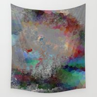 predator Wall Tapestries featuring Pastel Predator by Darcy Lynn Designs