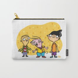 Ed, Edd, and Eddy Cool Kids of the 90's Carry-All Pouch