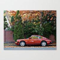 porsche Canvas Prints featuring Porsche by L R Photography