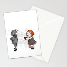 Robot Love Stationery Cards