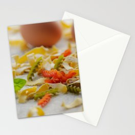 Coloful Pasta Creation Stationery Cards
