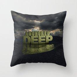 Anchored Deep 1 Throw Pillow