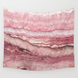 Mystic Stone Blush Wall Tapestry