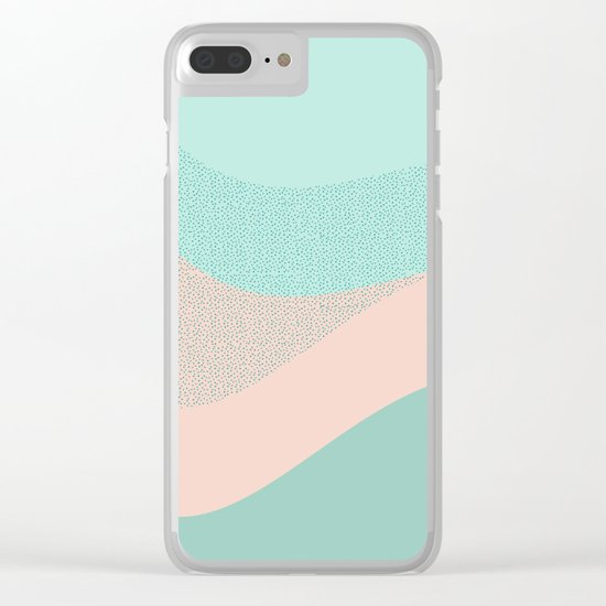Looking the stars Clear iPhone Case