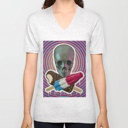 Skull x Pops Unisex V-Neck