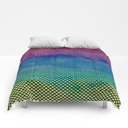 Rainbow Mermaid Tail Comforters