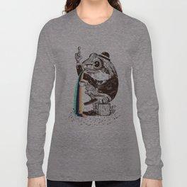 Strange Frog Long Sleeve T-shirt