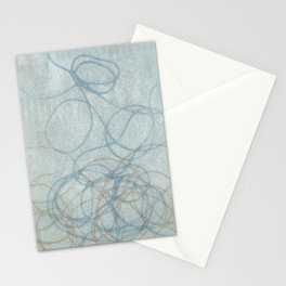 Blue Nest 2 Stationery Cards