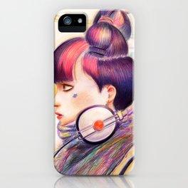 Sweet Dj iPhone Case