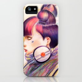 Sweet Dj iPhone Case