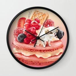 MacaronJapanese Chin Wall Clock