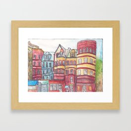 Sugar Hill, Harlem Framed Art Print